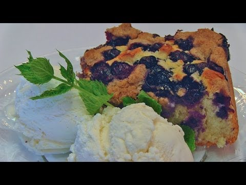 Betty's Old-Time Blueberry Buckle