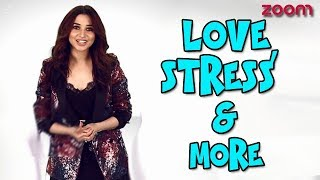 Tamannaah bhatia on love, coping up with stress & more | diwali beats