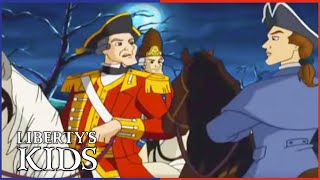 Liberty's Kids 105 - The Midnight Ride with Paul Revere & William Dawes | History Cartoons for Kids