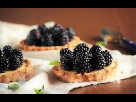 Тарталетки с ягодами и легким кремом за 15 минут. Домашние рецепты