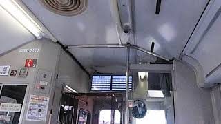 JR東日本キハ110系200番台運賃表示器起動