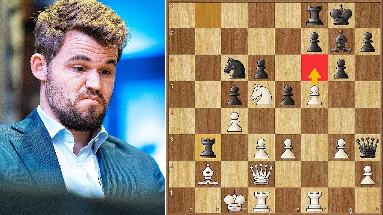 Really?? That's Your Move? || Aronian vs Carlsen || GCT Tata Steel Blitz (2019)