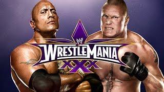 Game | WWE 2K14 The Rock vs Brock Lesnar at Wrestlemania 30 Epic Match | WWE 2K14 The Rock vs Brock Lesnar at Wrestlemania 30 Epic Match