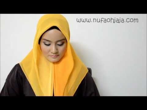 How to wear HIJAB 3 - simple and easy - NOJ style Travel Video