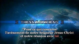 la bible 2 thessaloniciens 2 avant l avnement de notre seigneur jsus et notre runion avec lui