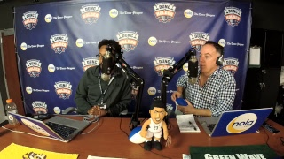 Dunc and Holder on Sports 1280 in New Orleans.  Nov. 13, 2017.