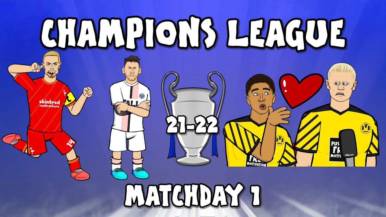 Download 🤣Henderson Goal! Haaland Kiss!🤣 (Champions League Highlights 21-22 Liverpool AC Milan 3-2)
