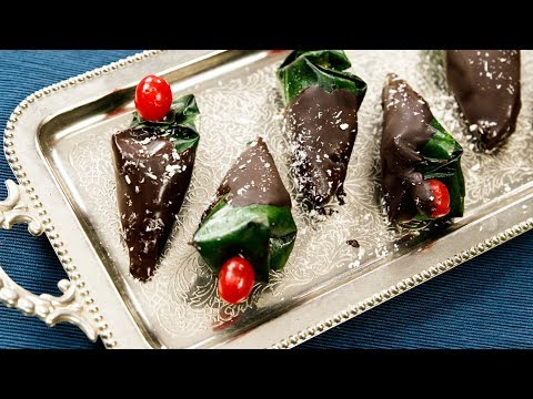 Chocolate Paan Recipe - Choco Meetha Pan Indian Street Food - CookingShooking