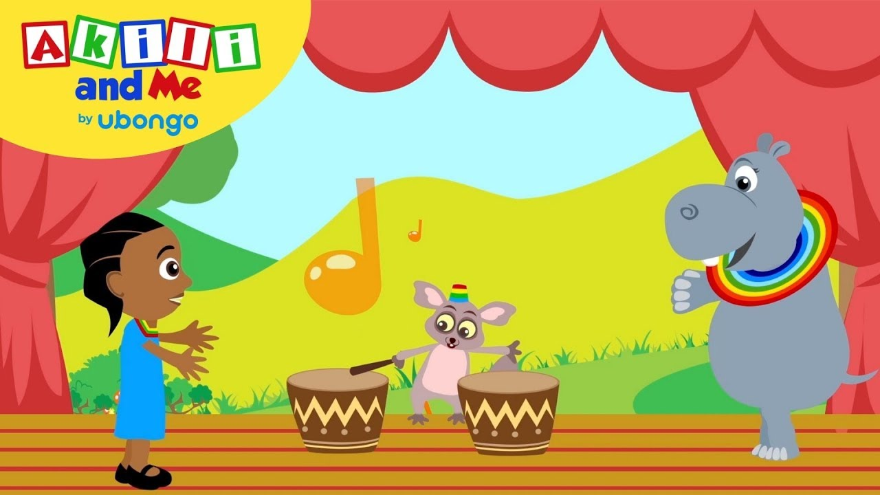 Count Beats! | Numbers & Shapes with Akili and Me | African Educational Cartoons