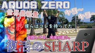 [世界最軽量スマホAQUOS ZERO] コレこそ日本のスマホ!たまらん!萌える! 毒舌王がべた褒めしすぎる(謝り:AndroidもGooglePayで無料でSuica利用できました)[SHARP]