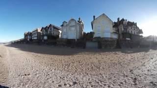 Plage Houlgate en 360 degrés - Dives sur Mer - Cabourg - Compatible Playstation VR -