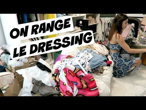 On range le dressing
