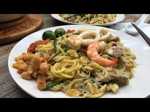 How to cook Singapore Fried Hokkien Noodles 新加坡福建炒面