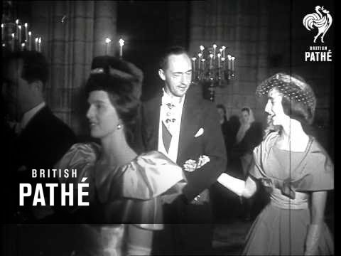 French Princess Weds In Notre Dame (1960)