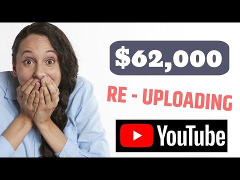 💰$62,000 Profit On YouTube Re Uploading Videos On Youtube - Make Money Online