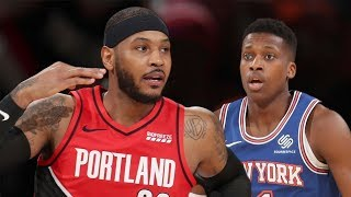 Portland Trail Blazers vs New York Knicks  Full Game Highlights | January 1, 2019-20 NBA Season
