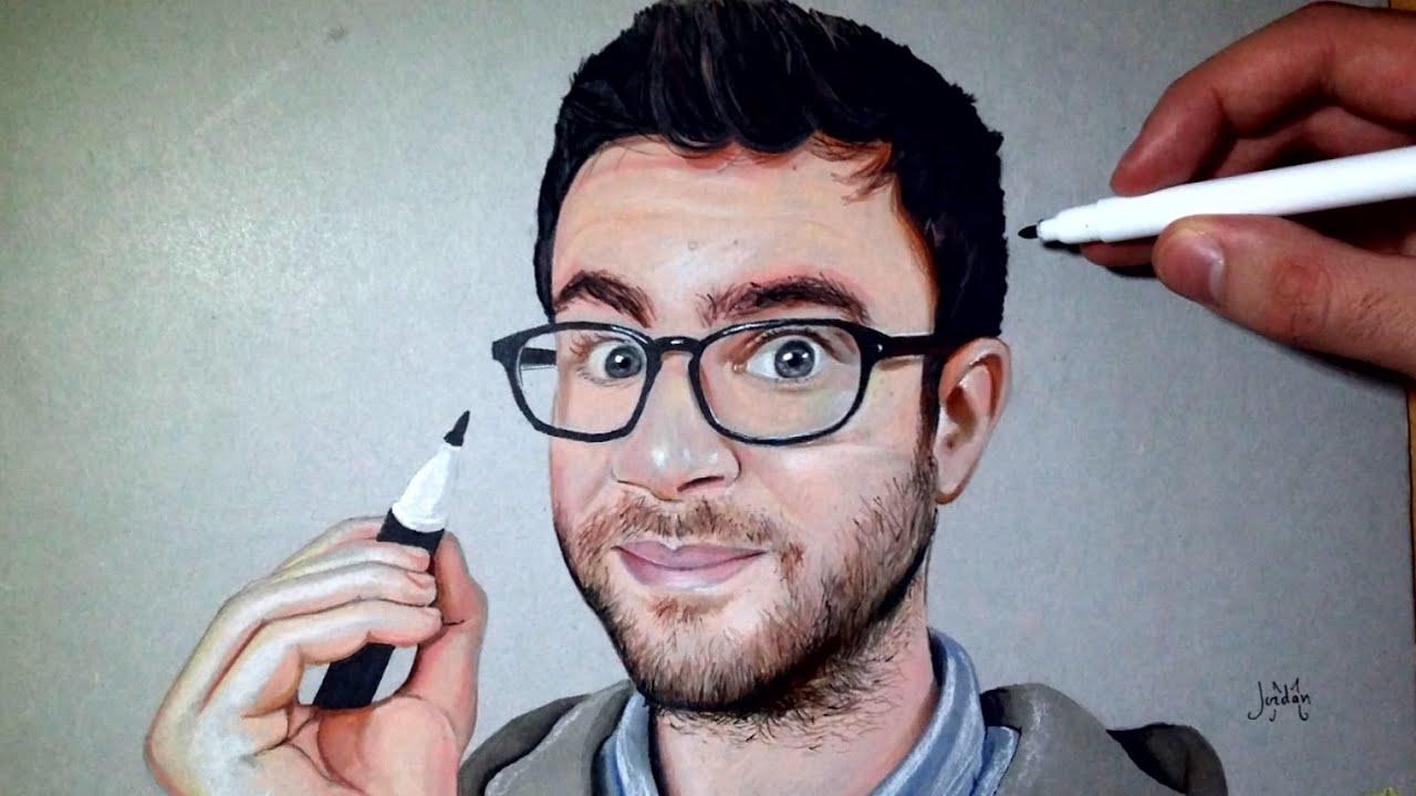 Cyprien je dessine son portrait youtube - Dessin de cyprien ...