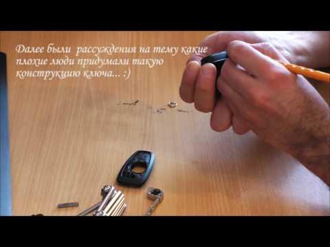 Разбор и ремонт ключа Ford Focus 3