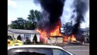 House/Garage fire part 1