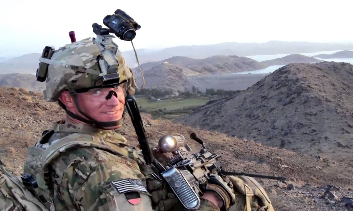 Medal of Honor Nominee Staff Sgt. Ty Carter
