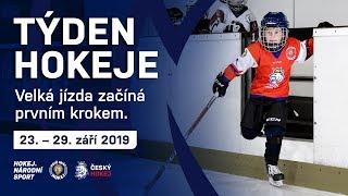 Týden hokeje: 23. - 29. září 2019