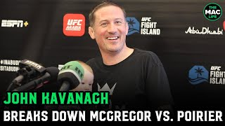 John Kavanagh breaks down UFC 257, Dustin Poirier and more