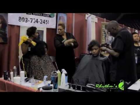 Shear Rhythms Full Service Salon At The Black Expo in Columbia 2014