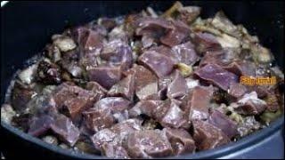 вкусный рецепт Бараньи потроха Джиз биз (Тжвжик)