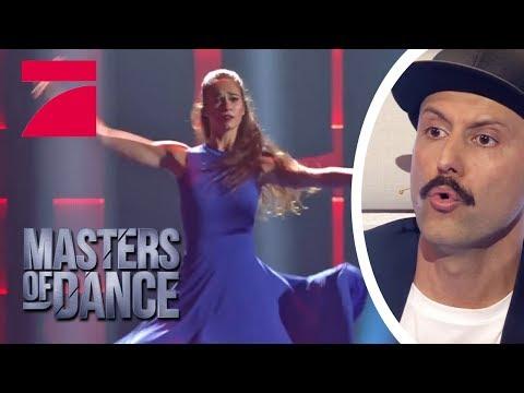 Maria Tolika - Diese Performance berührt ALLE  Masters of Dance  ProSieben