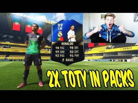 OMG!! 2x TOTY IN 1 PACK OPENING!! ⛔️🔥 - FIFA 17 FUT CHAMPIONS ULTIMATE TEAM (DEUTSCH)