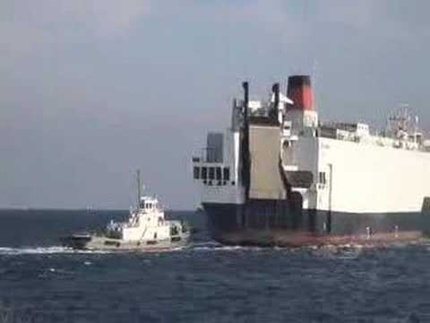 Pacific winner who collides with buoy