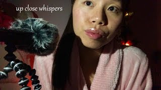 (UNEDITED ASMR) Up Close SLOW Whispers! Repeating Tingly Phrases + Relaxing Hand Movements ++