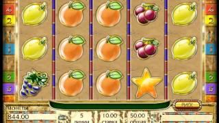 видео Автомат игровой Fruits Of Ra играть онлайн на сайте казино