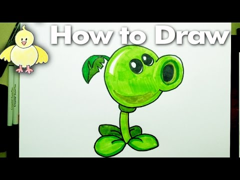 [Full Download] How To Draw Peashooter Plants Vs Zombies 2