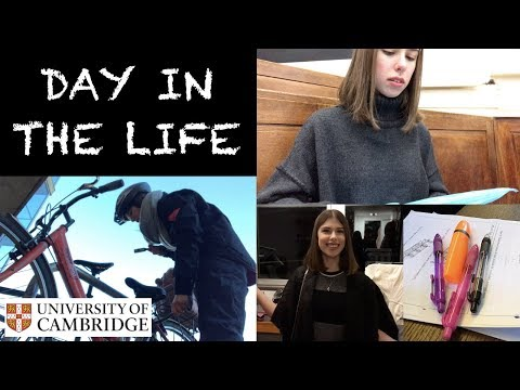 DAY IN THE LIFE: 2ND YEAR PHYSICS STUDENT AT CAMBRIDGE UNIVE