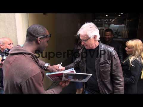 Joel Higgins at NBC Studios Joel Higgins at NBC Studios o...