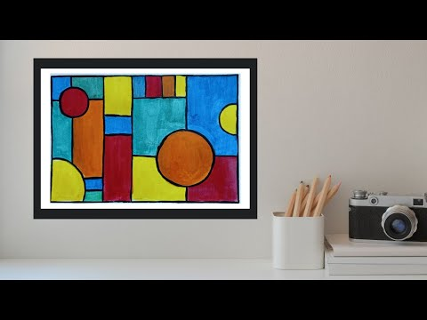 diy-wall-art-canvas-painting-||-acrylic-painting-||-home-decor-idea-||-simple,-easy-and-inexpensive