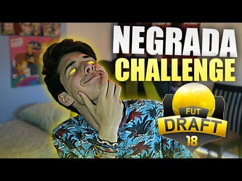 NEGRADA CHALLENGE #1!!  FUT DRAFT RETO - Toto Gameplays