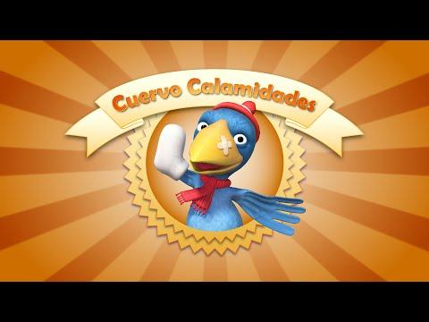 Paulie y Fiona - Cuervo Calamidades - Videos cortos para bebés.