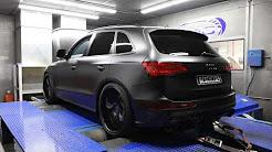 Audi Q5 3.0T APR Stage 2 Dyno Run. 430HP