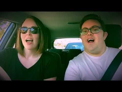 Nicole & Daniel's Carpool Karaoke for World Down Syndrome Day 2018