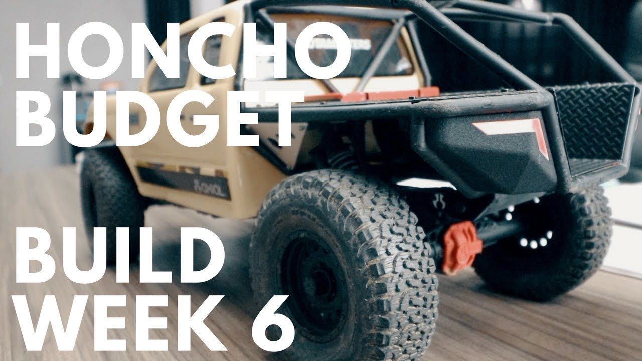 Axial SCX10-2 Trail Honcho $50 Budget Build - Week 6 - Motor Swap