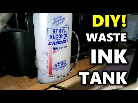 DIY! HOW TO INSTALL WASTE INK TANK for EPSON Printers