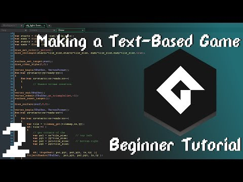 GameMaker Studio 2 Tutorial: Player Input and Branching Dialog [EP2]