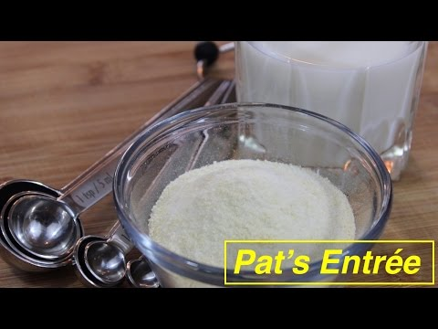 Homemade Whey Protein Powder