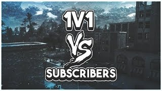 Fortnite| 1v1 vs Subscribers!!|