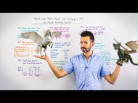 Weird, Crazy Myths About Link Building in SEO You Should Probably Ignore – Whiteboard Friday
