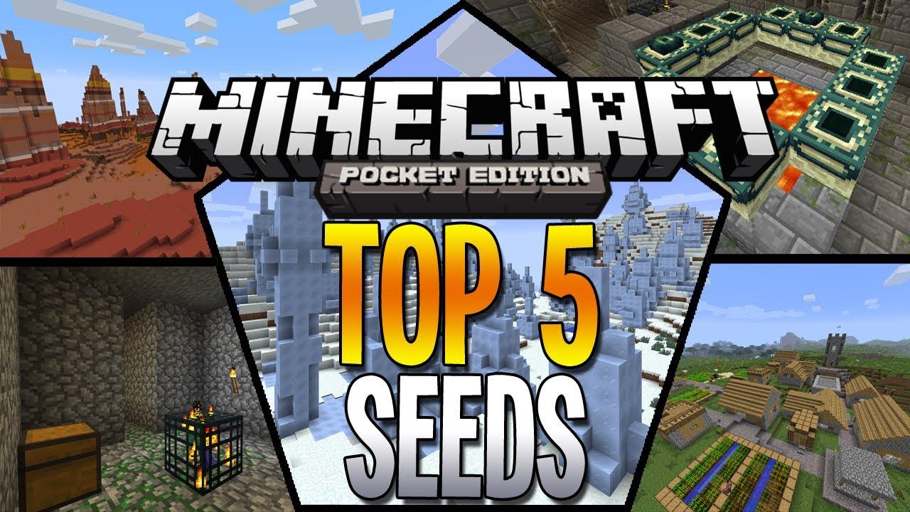 Top 5 De Seeds    Para Minecraft Pe 0 13 1