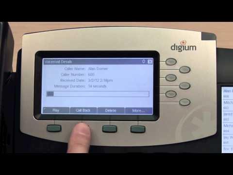 Digium IP Telephone interactive Voicemail Digium Phones
