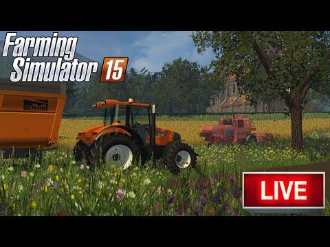 LIVE #8 | Farming Simulator 15 | Vielle France | Une magnifique map !